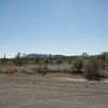 I missed the welcome to Arizona sign but I got this nice Arizona Desert