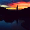 Fountain Hills, AZ sunset