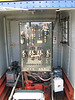This electro-mechanical switchgear is vintage 1920's eqipment, and is still functioning today.  The level of care that goes into maintaining all of this is clearly evident.  This is not a musem piece, this is an actual working panel.