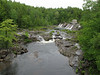 The falls at Joe Indian Pond Road
