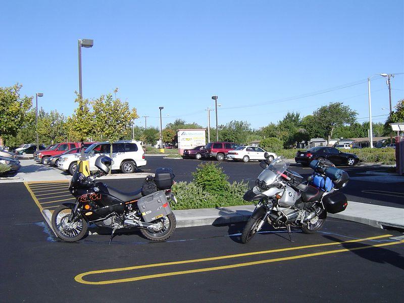 Palmdale pit-stop.