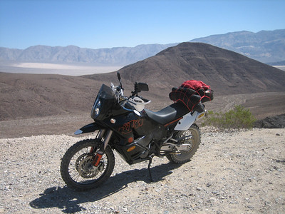 Hwy190 above Panamint Springs. Looking towards Panamint Dunes.