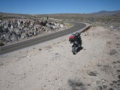 Hwy190, nearing Santa Rosa Flat.