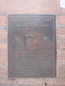 Father Crowley memorial.