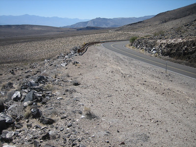 Hwy190, looking back towards Panamint Valley.