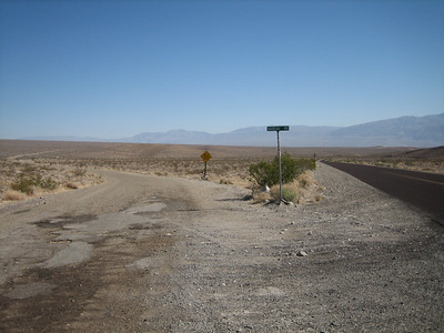 Hwy178 (Trona-Wildrose Rd.) and Nadeau Rd. I'll turn left.