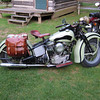 Neat old Harley spied at the Blueridge Motorcycle Campground