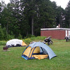 Wolfe Point campground in Fundy Nat'l park