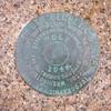 Geological Marker for Thunder Hole