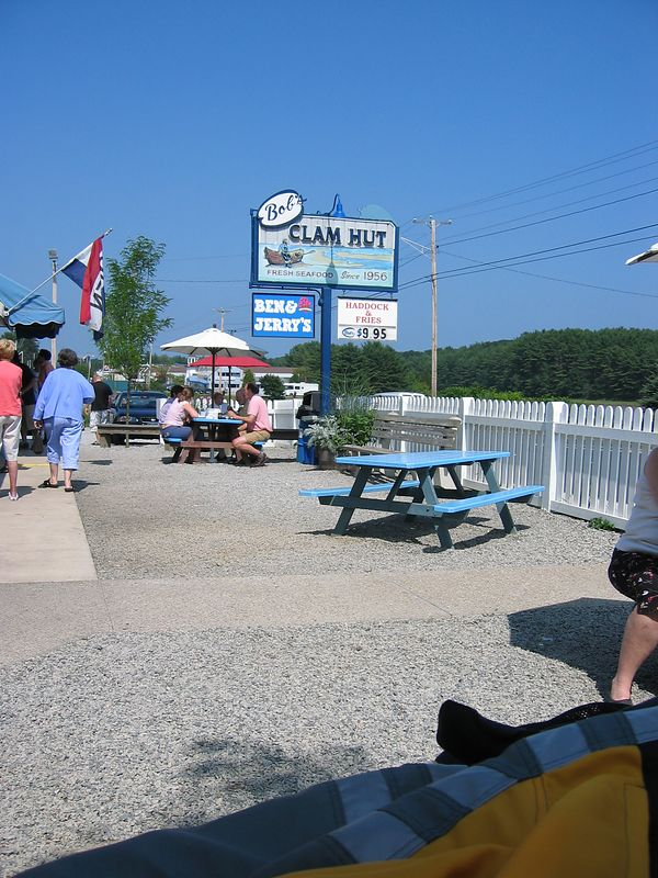 Bob's Clam Hut in Kittery, Maine.