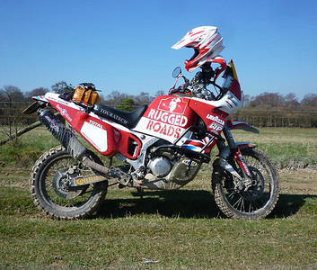 Africa Twin - Fairing 'Rally Light' Kit