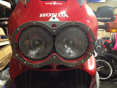 Africa Twin RD07A Headlight Guard