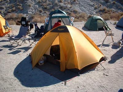 Alex's tent