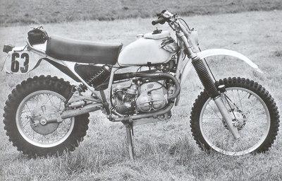 ISDE Vintage BMW bikes