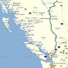 822 miles on day 1, Seattle to Charlie Lake campground<br /> GPS N56° 18.458', W121° 00.111'