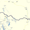 525 miles on day 3, Liard Hot Springs to Haines Junction<br /> I rode up to Kloo Lake after arriving thinking I would make it into Alaska that day but it started to snow hard and the air temperature dropped to 32F so I turned around and went back to Haines Junction.