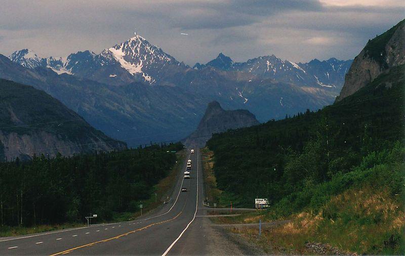 Near the Matanuska Glacier, AK