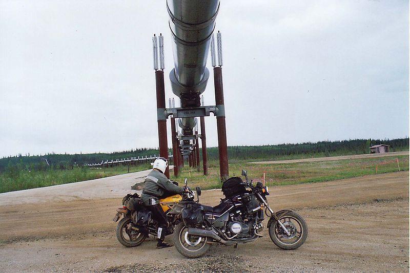 Yukon River Crossing on the Dalton Hwy. (Haul Road) Pipeline