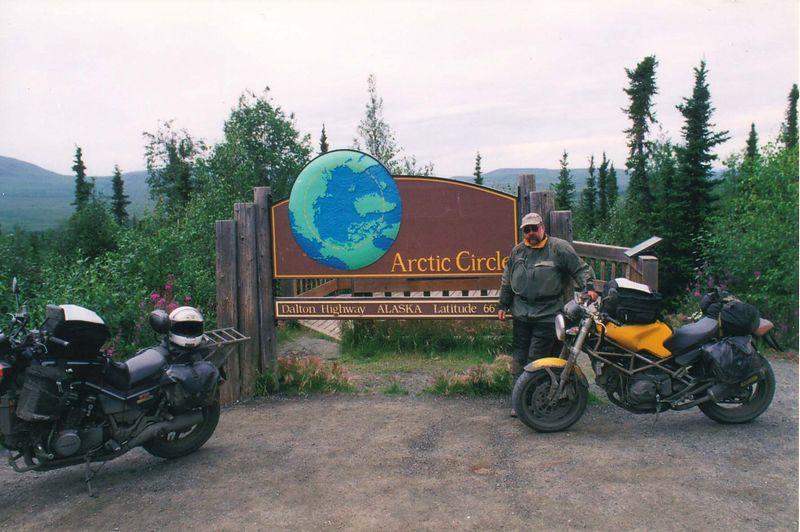 Sabre, Jeff, Ducati, Arctic Circle