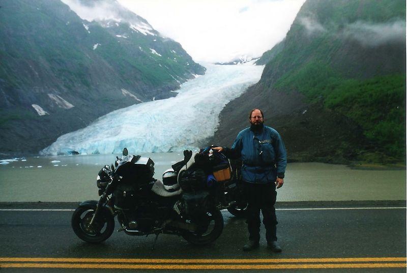 CB1000, me, Bear Glacier