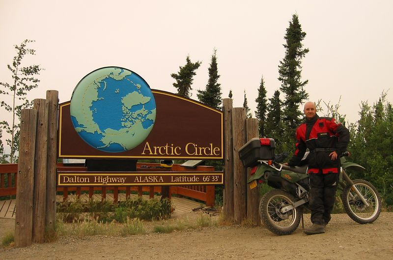 "The ""Must Have"" Arctic Circle photo.  Proof you've been there and done that."
