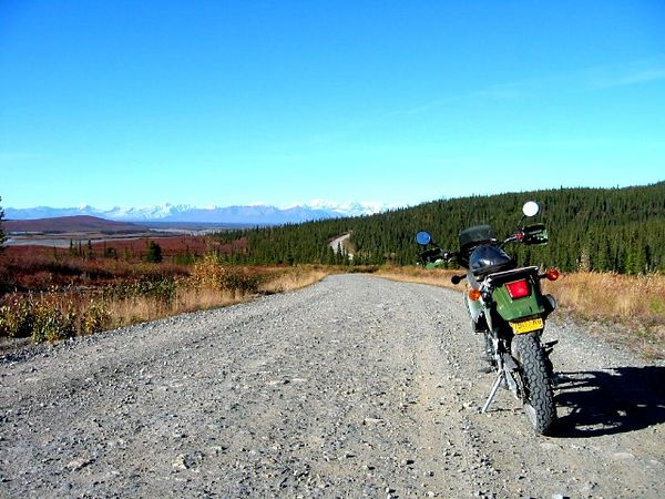 Clearwater Creek access along the Denali Highway.
