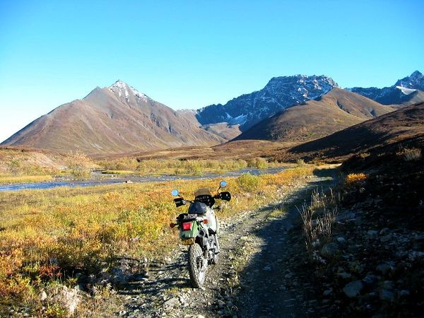 Last trip along the Valdez Mine trail.