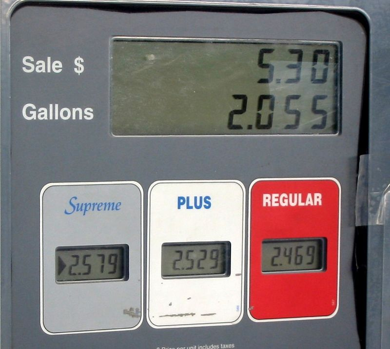 Summer 2004 gas prices.  At Deadhorse I happily paid $2.90 for 87 octane.
