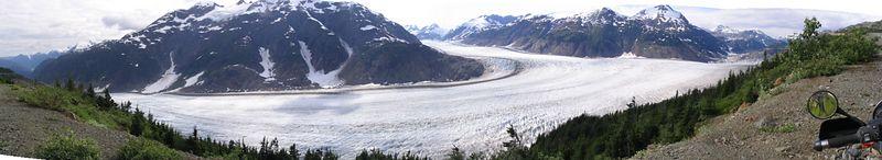 Salmon Glacier panorama