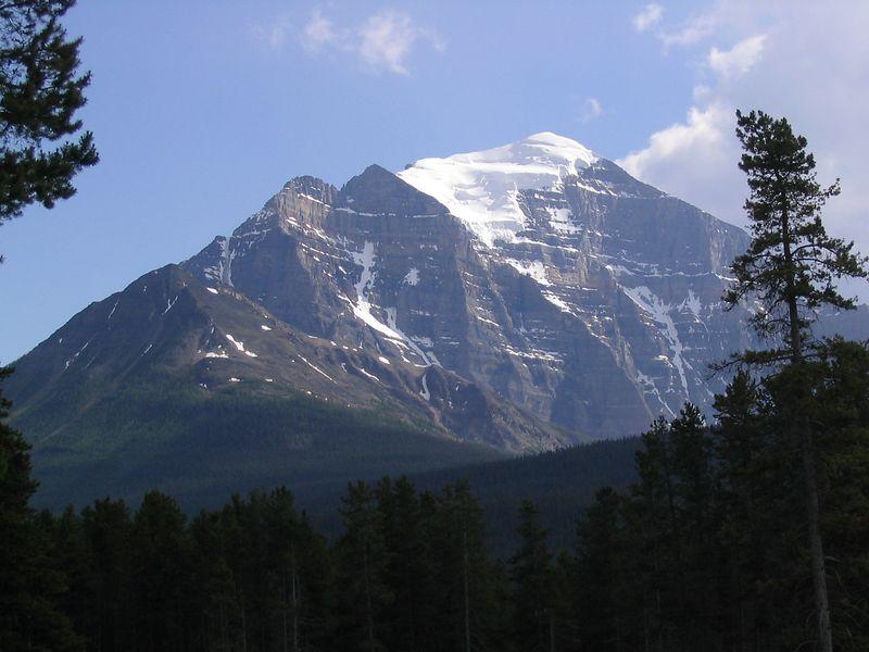 Peak behind Lake Louise