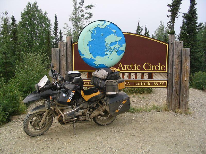 Arctic circle, bike, Day 10
