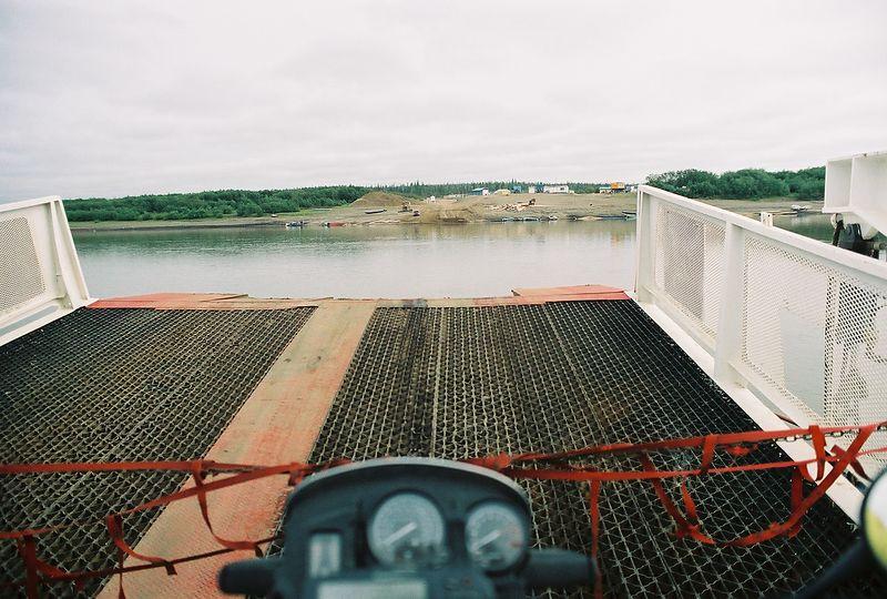 Bike's eye view, ferry crossing
