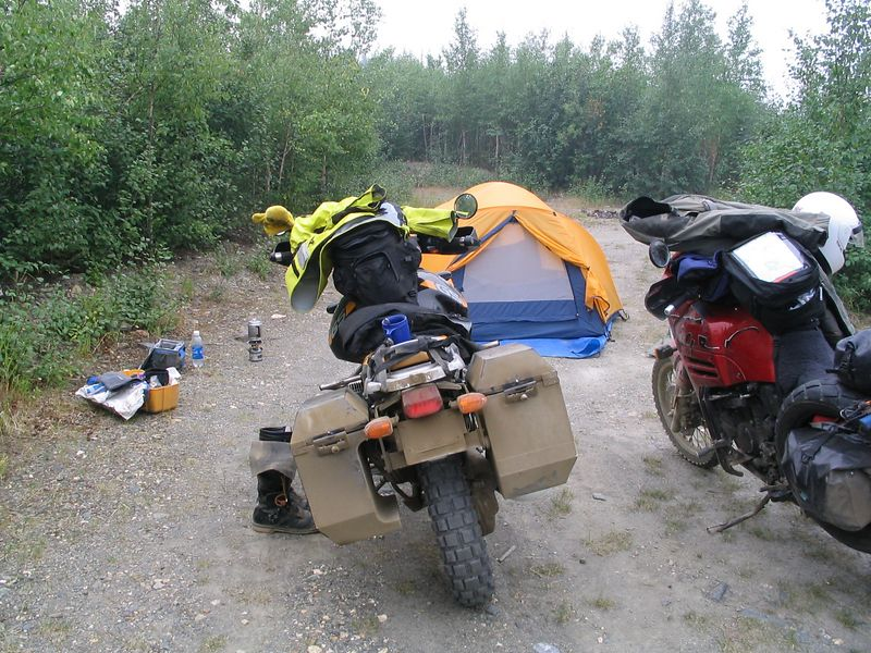 Arctic Circle Campsite, #8 and #9.  Day trip to Deadhorse tomorrow