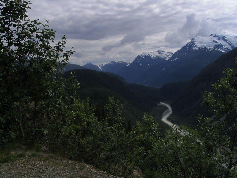 Downstream from Salmon Glacier