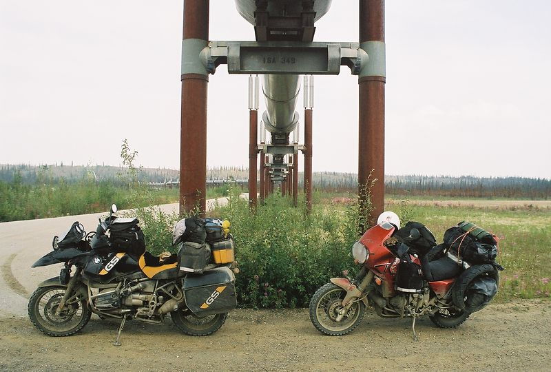 Yukon River crossing, pipeline