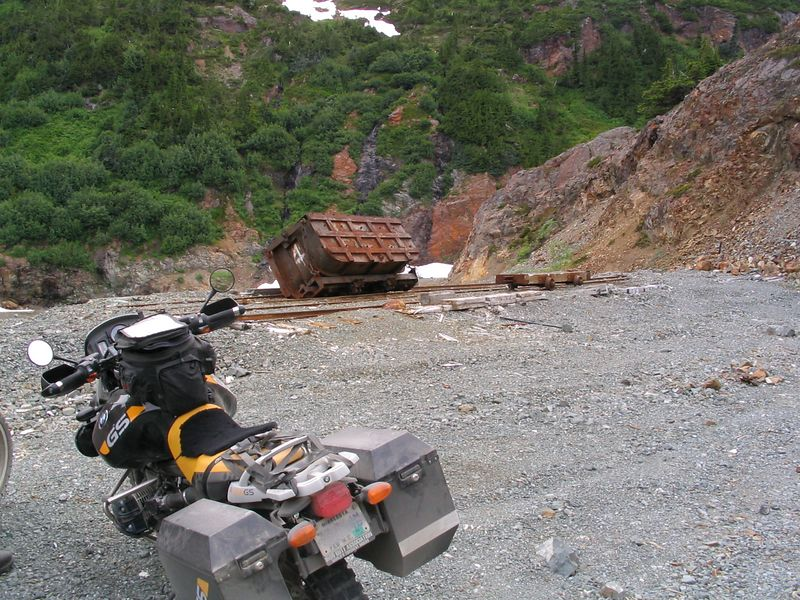part of the Granduc gold mine