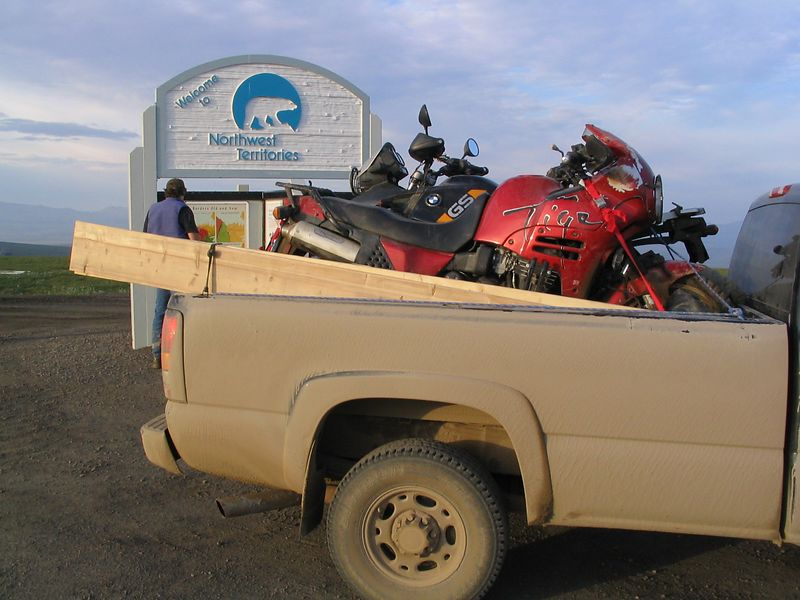 "NWT border, return trip, rental truck...there's a reason they call it the ""dumpster"""