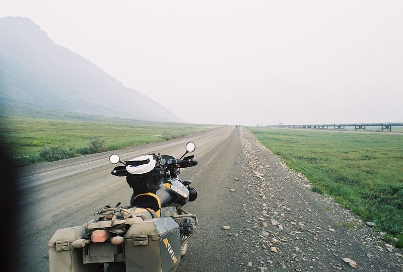 Heading South, north of Antigun Pass