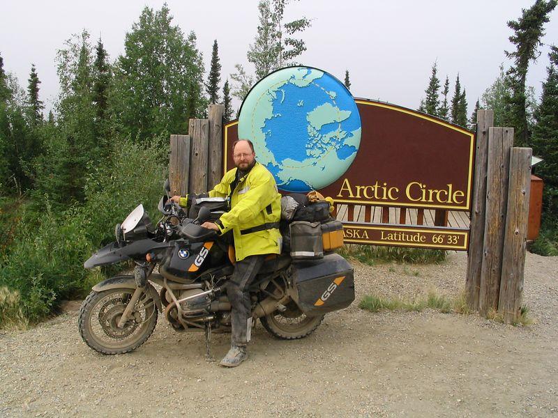 Arctic circle, me