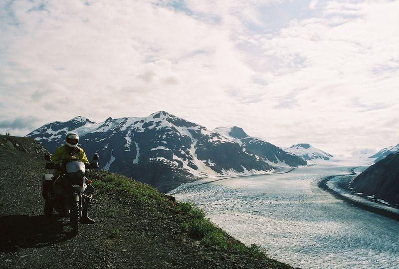 Salmon Glacier and I