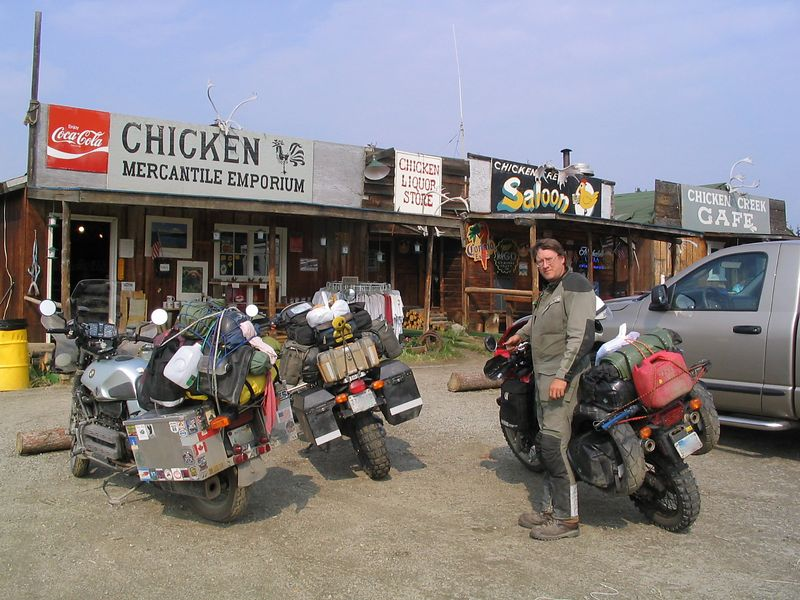 downtown Chicken, AK.  Day 13