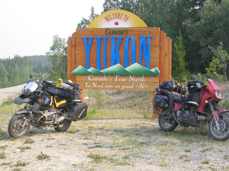 Yukon border crossing? South of Watson Lake on Cassiar Hwy