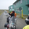 We met Jeff in Dawson City, he road with us until we got back down the hill.