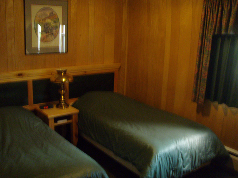 Beaver Creek...The rooms were old and small but luckly they were very expensive...