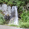 Cool little waterfall right next to the road. on the way to the Salmon Glacier