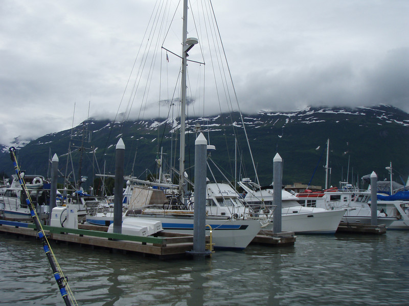 Some boats in Valdez