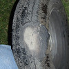 The tire may have been this way for a few hundred miles...But it never lost air