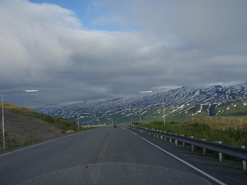 Thompson pass going into Valdez