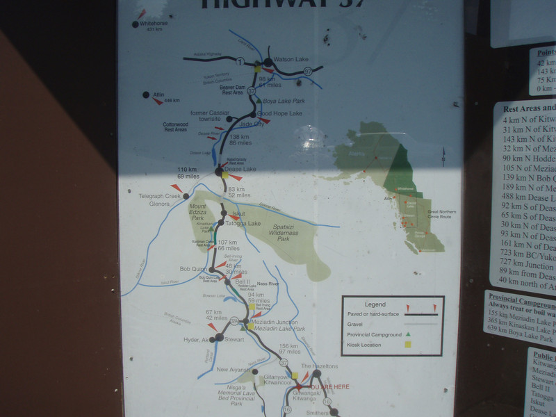 Area Map we are at the 16 - 37 Junction