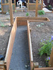 These paths make it easy to reach into the planting beds for whatever it is gardeners do in planting beds.